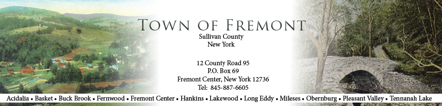 The Town of Fremont